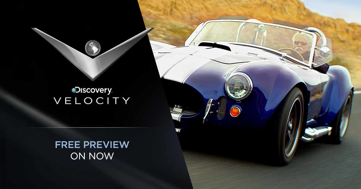 Discovery Velocity On Free Preview Until February 8