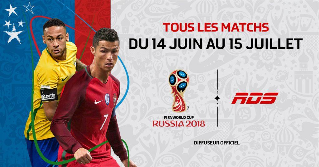 Coupe du Monde de la FIFA 2018 – Suivez toute l'action sur VMediaTV