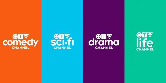 Bravo, Comedy, Space & Gusto Rebranded