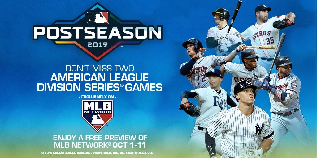 MLB Post Season is on Free Preview!