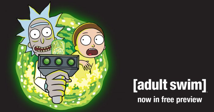 Adult Swim – On Free Preview!
