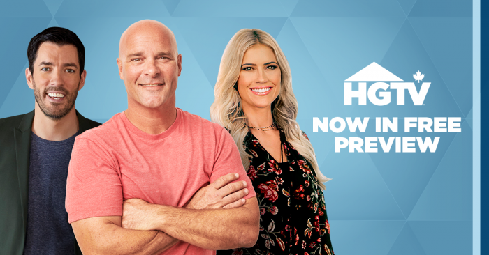 HGTV – On Free Preview!