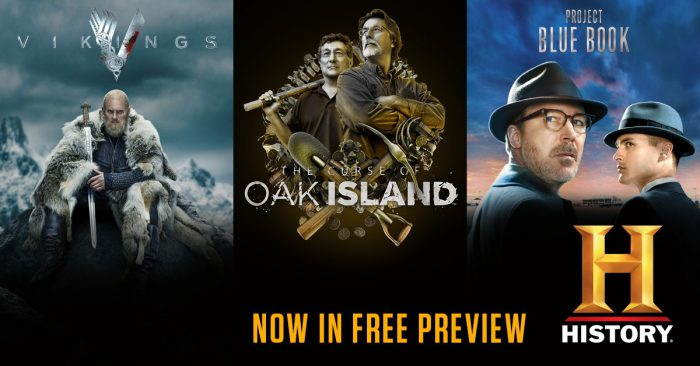 History TV NOW ON FREE PREVIEW!