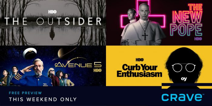 Crave + Movies + HBO – Free Preview!