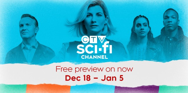 CTV Sci-Fi Channel on FREE PREVIEW!
