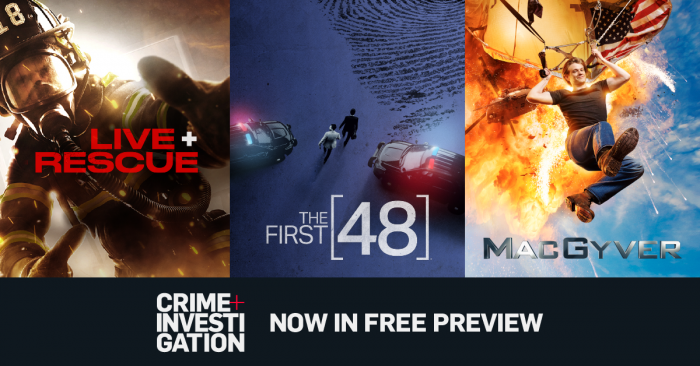 Crime + Investigation on FREE PREVIEW