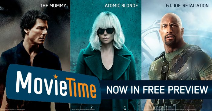 MovieTime on FREE PREVIEW