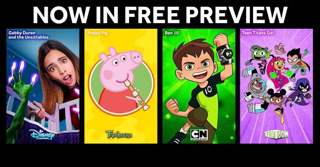 Kids Networks on FREE PREVIEW!