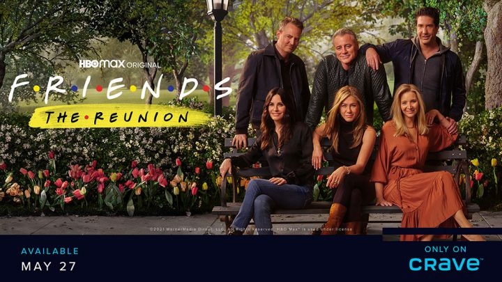Friends: The Reunion – Only on Crave