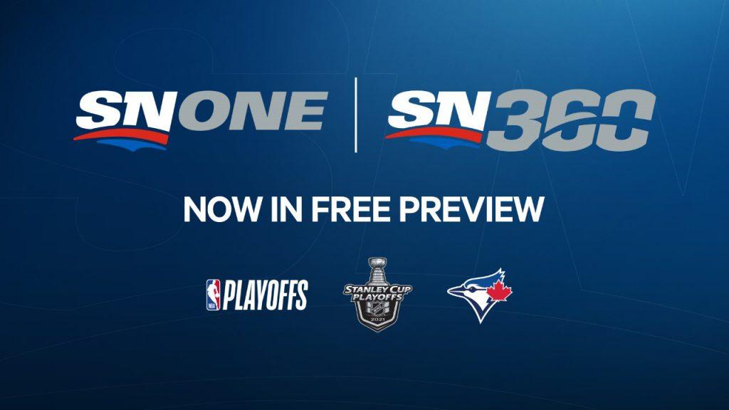 Sportsnet ONE & Sportsnet 360, Now in FREE Preview!