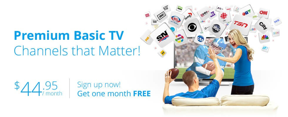 Premium Basic TV - One Month FREE