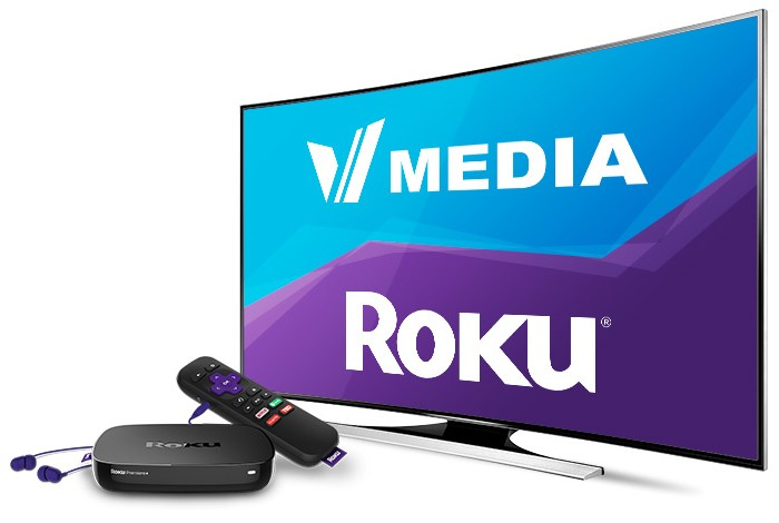 VMedia | TV On ROKU Players