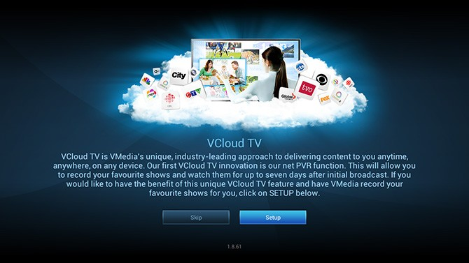 Activating Cloud PVR