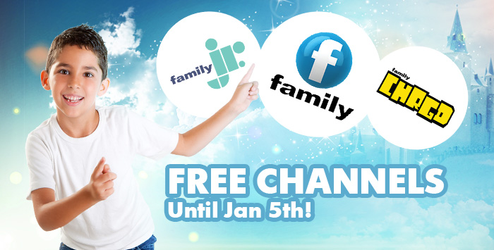 Family, Family Jr and CHRGD – Free until Jan 5th!