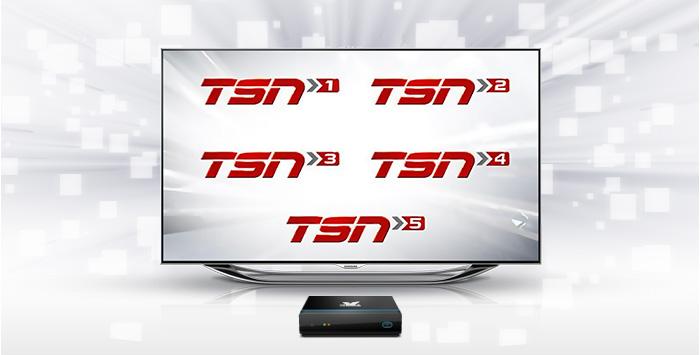Five TSN Channels!